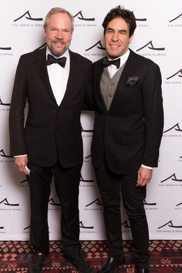 Christophe Olson and Josed Granados at Winter Gala