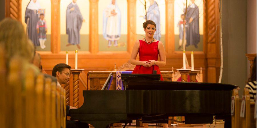 The Santa Fe Opera's Holiday Concert at the Cathedral Basilica of St. Francis of Assisi, Santa Fe New Mexico