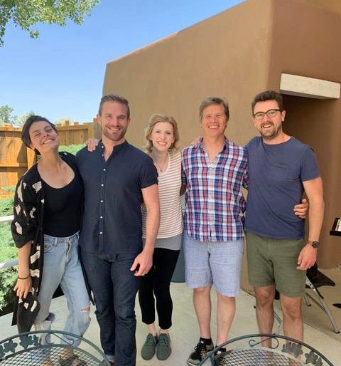 Team Così fan tutte: Emily D'Angelo, Jarrett Ott, Amanda Majeski, Rod Gilfry and Ben Bliss