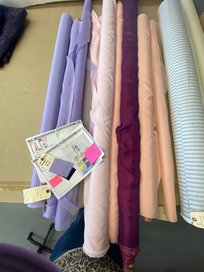 fabric backstage